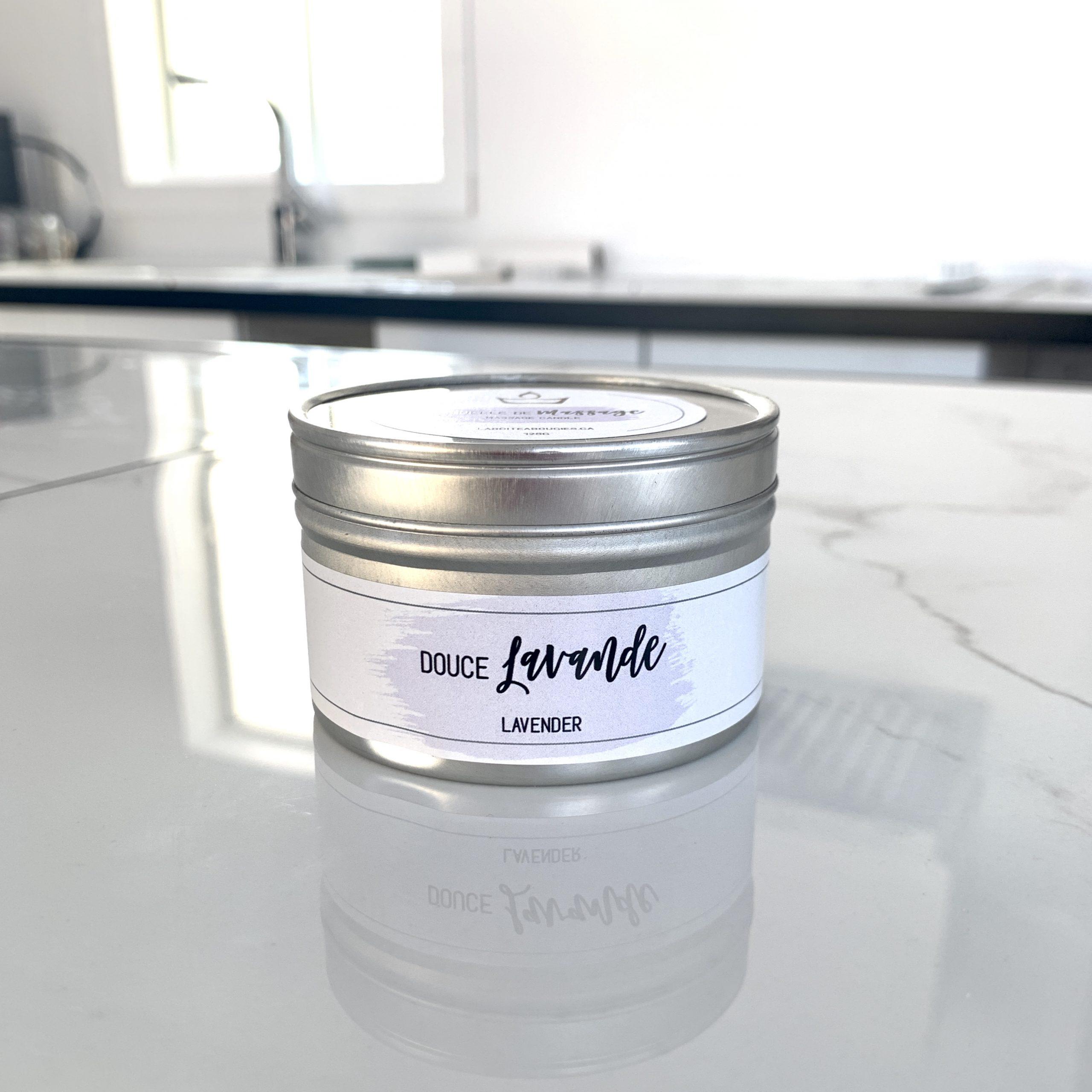 Lavender Massage Candle